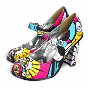 Zapatos Hot Chocolate Modelos Doble Topping Tacones Nuevos