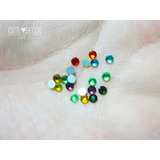 Cristales Piedritas 100pz. Surtidas Nails Uñas Decoracion