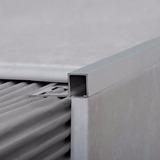 Perfil Guardacanto Quadra Aluminio Ceramicas Pisos Bri 3421