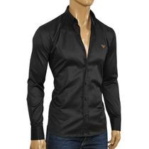 Camisa Original Emporio Armani - 100% Algodon Made In Italy