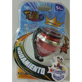 Trompo Con Punta Giratoria King Turbo!
