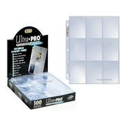 Folios De Carpeta Ultra Pro X10 Hojas Platinum Scarlet Kids