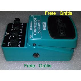 Pedal Behringer Cs100 Efeito Guitarra Compressor Frete Gráts