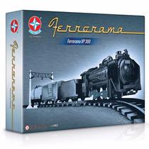 Ferrorama Locomotiva Trem Vagão Completo Estrela Xp300
