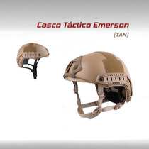 Casco Tactico Militar Emerson Moto Gotcha Paintball Airsoft