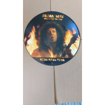 Picture Lp Brian May With Cozy Powell - Resurrection