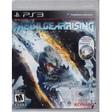 Metal Gear Rising Revengeance Ps3 Playstation 3 Juego Karzov