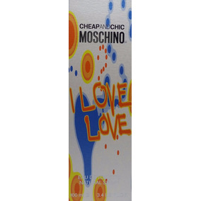 Perfume Cheapandchip Moschino I Love Love Edt 100 Ml