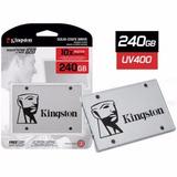 Hd Ssd Kingston 240gb Ssdnow Uv400 Sata 3 6gb/s 500mb/s