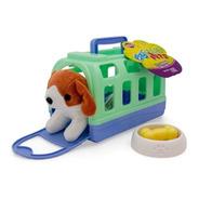 Kit Casinha Meu Pet - Verde - Playfull Pets -toyng