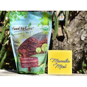 Bayas De Goji 500 Gramos Organicas 100% Berries Semillas