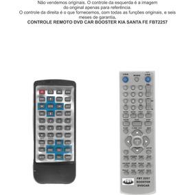 Controle Remoto Dvd Car Booster Kia Santa Fe Fbt2257