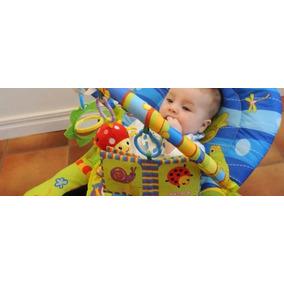 Mecedora Reposera De Bebe Jem Sapito Sonidos Y Vibración