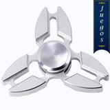 2 Fidget Hand Spinner Metal Pinza Anti Estres (par)