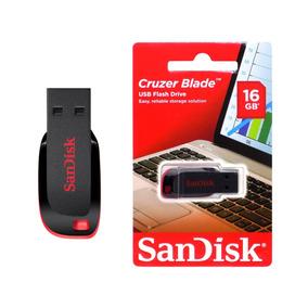 Pen Drive 16gb Sandisk Original Lacrado Pronta Entrega