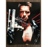 Autografo Arnold Schwarzenegger - Terminator