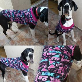 Roupa Dog Alemão Cachorro Frio Raça Grande Macho Femea