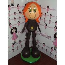 Boneca Viúva Negra Em Eva 3d 15 Cm - Heróis Os Vingadores