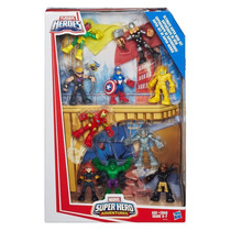 Boneco Hulk Thor Gavião Arqueiro Iron Man Ultron B4756