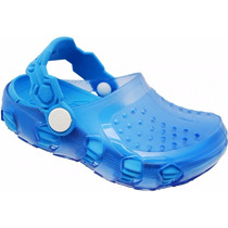 Atacado 12 Sapato Infantil Transparent Azul Babuche Sandali