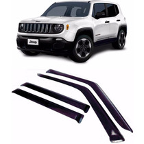 Calha Defletor Chuva Jeep Renegade 15/16 4 Portas Tg Poli
