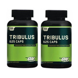 2 Tribulus Terrestris 625mg Optimum Nutrition 100 Capsulas