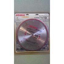 Disco Para Aluminio 10 X 72 Dientes De Tuxteno.