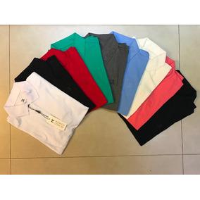 Kit C/5 Camisetas Gola Polo Masculina Da Ricardo Almeida