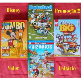 Disney Especial Temático Big Jumbo - 6,90 Cada
