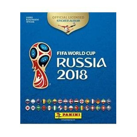 Album Da Copa Do Mundo 2018 + 300 Figurinhas Sem Repetiçao