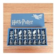 Jogo De Xadrez Harry Potter - Impressão 3d - Sem Tabuleiro