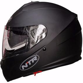 Casco Ntr Ff300 Full Face Black Mat Doble Visor Devotobikes