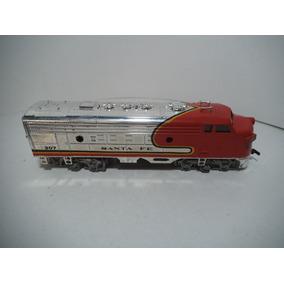 Locomotora Santa Fe 307 Escala Ho Bachman Tren