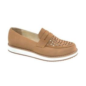 Zapato Confort Shosh 165814 Miel Pcf 1-18