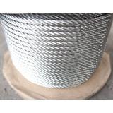 Cable De Acero Galvanizado Tipo Boa Alma De Acero De 1/2