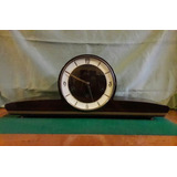 Reloj D Mesa Art Deco Carrillon Triple Soneria Schatz Video!