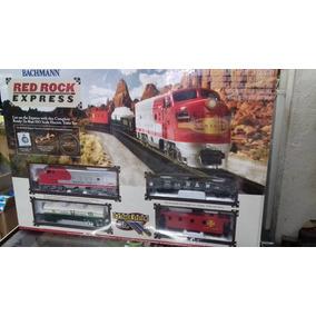 Tren Eléctrico Red Rock Express Escala Ho Bachmann.