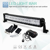 Lámpara Curvada De Led Bar5d Lente 24