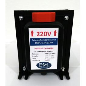 Conversor De Voltagem 110v 220v 4000 Va Em Cobre 2800 Watts