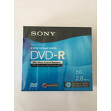Sony Dvd-r Recordable Storage 3 Discos 2.8gb Disc1