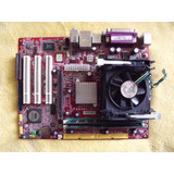 Tarjeta Madre Msi P4mam2-v + Procesador Pentium 4 + 2 Gb Ram
