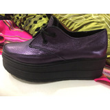 Zapato Ingles De Cuero Oxford