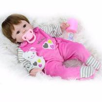 Bebê Reborn Menina 40cm + Kit Pronta Entrega Envio Rápido