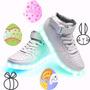 Zapatillas Con Luces Led Calidad Premium Oferta Pascuas !!