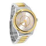 Reloj Swatch Yis410g Sistem Nugget Acero Dorado/plateado