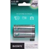 Pila Bateria Recargable Aa Sony 2500 Mah Alta Capacidad