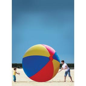 Pelota De Playa Inflable Gigante Bigmouth Inc