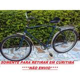 Bicicleta Monark Homem Somente Retirar Em Curitiba Não Envio