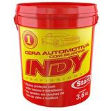 Cera Par Autos Indy 3.6kg Tipo Industrial Ideal Lavadero