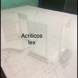 Porta Menús De 21x14 En Acrílico , Exhibidor De Acrílico